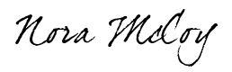 Nora McCoy